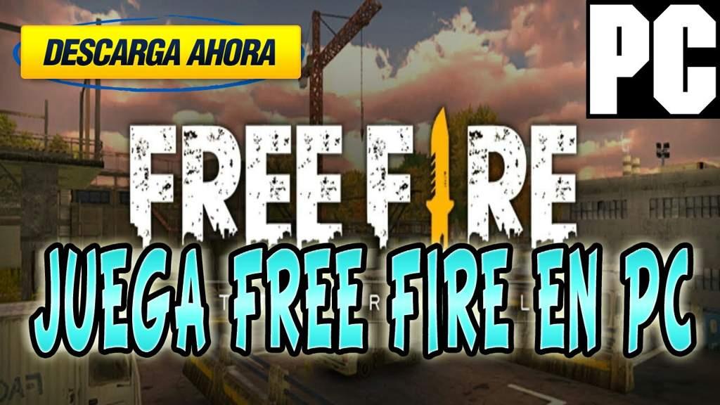 Como descargar y jugar FREE FIRE EN PC | 🔜 Free Fire🔚 Amino
