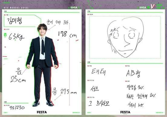 Kim Taehyung 63kg 178cm Big Eyes Hand 23cm Feet 275mm Nickname Taetae Blood Type Ab Added Value Shirt Made Of 70 Handsomeness Own World 20 And Dialect 10 Special Skill Ignore Those Things Army S Amino