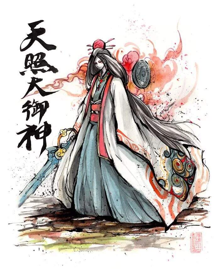Боги японии с картинками