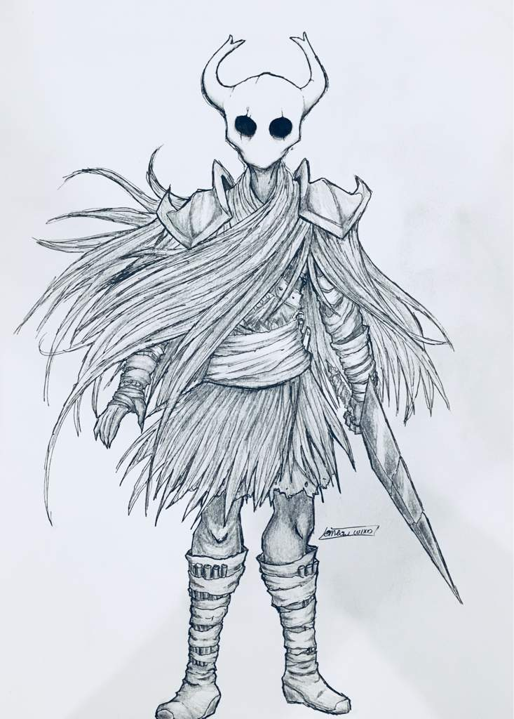 Character Design Hollow Knight Art Style