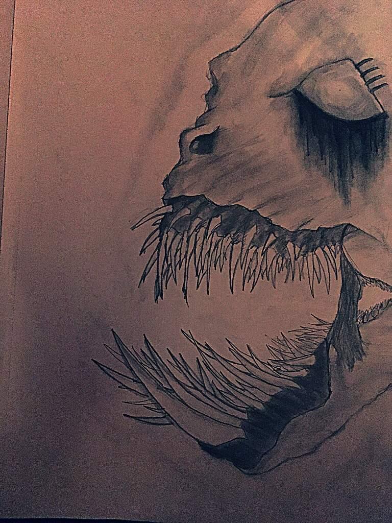Scary Monster Drawing Drawing Amino