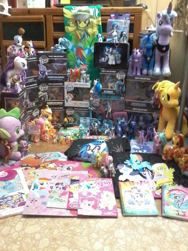 This made me realize that I have way too much stuff | My little pony Amino