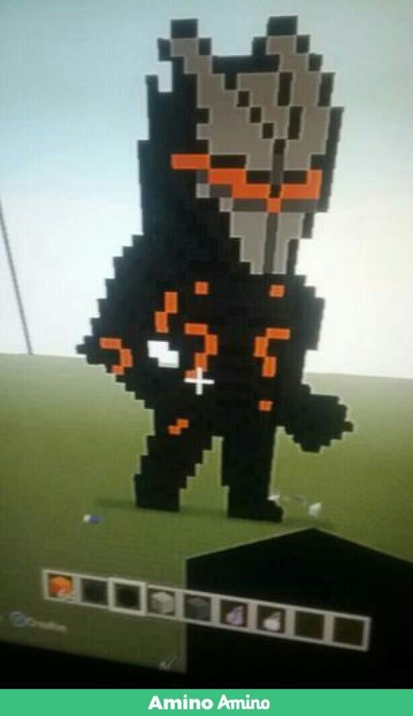 I Finished My Omega Pixel Art Fortnite Battle Royale