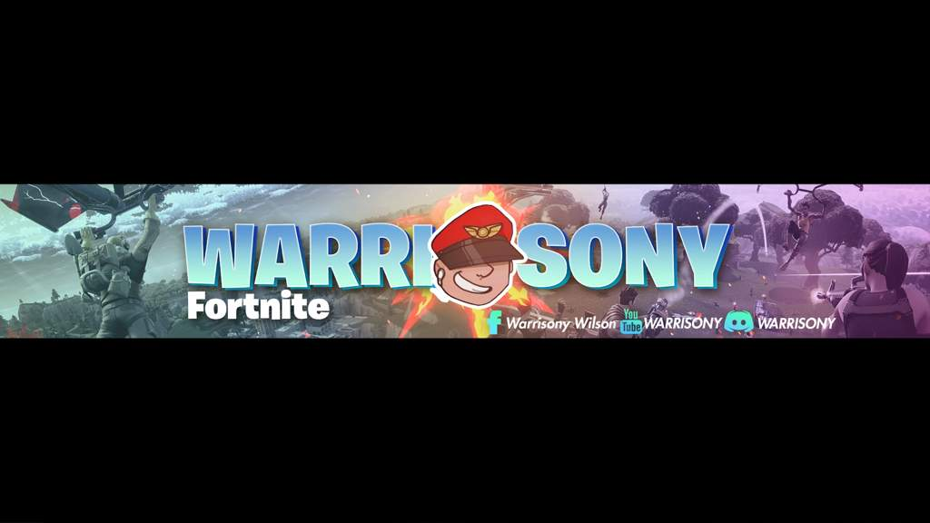 Warrisony S Youtube Banner Fortnite Battle Royale Armory Amino