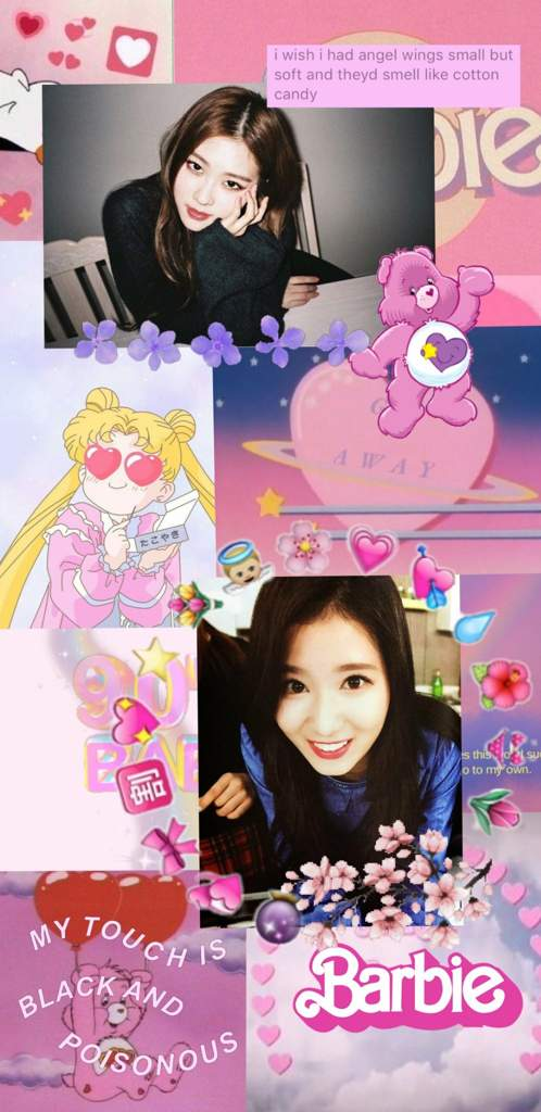 Sana X Rose Wallpaper Twice Aesthetics Amino