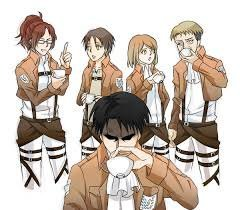 Why Do Levi Ackerman Holds His Cup Different Anime Amino