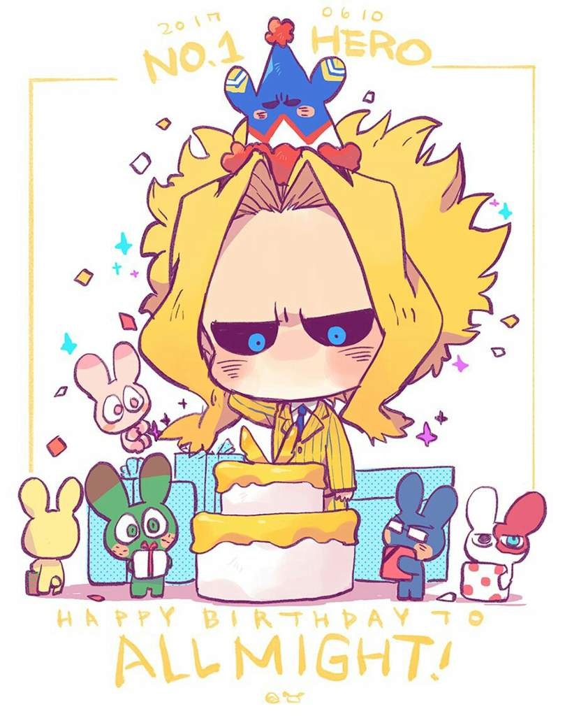Cool Happy Birthday All Might My Hero Academia Amino Personalised Birthday Cards Bromeletsinfo