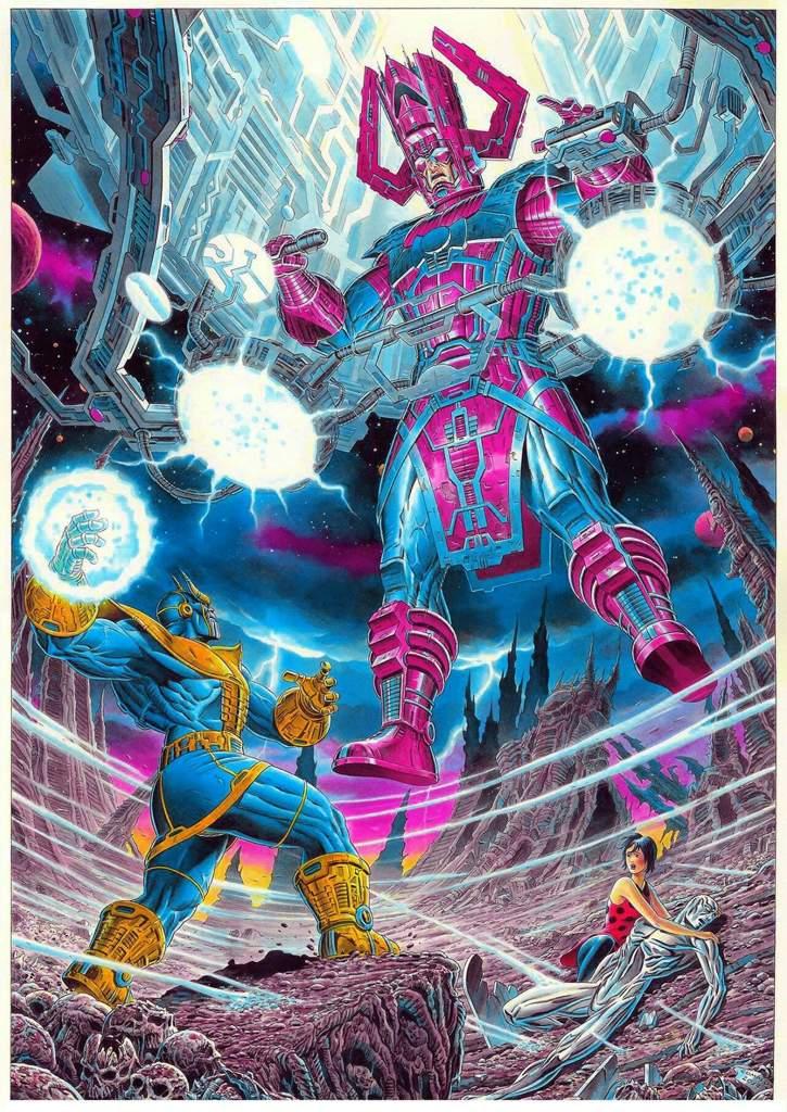 BatalhaSuprema THANOS VS GALACTUS   Marvel Comics em Português™ Amino