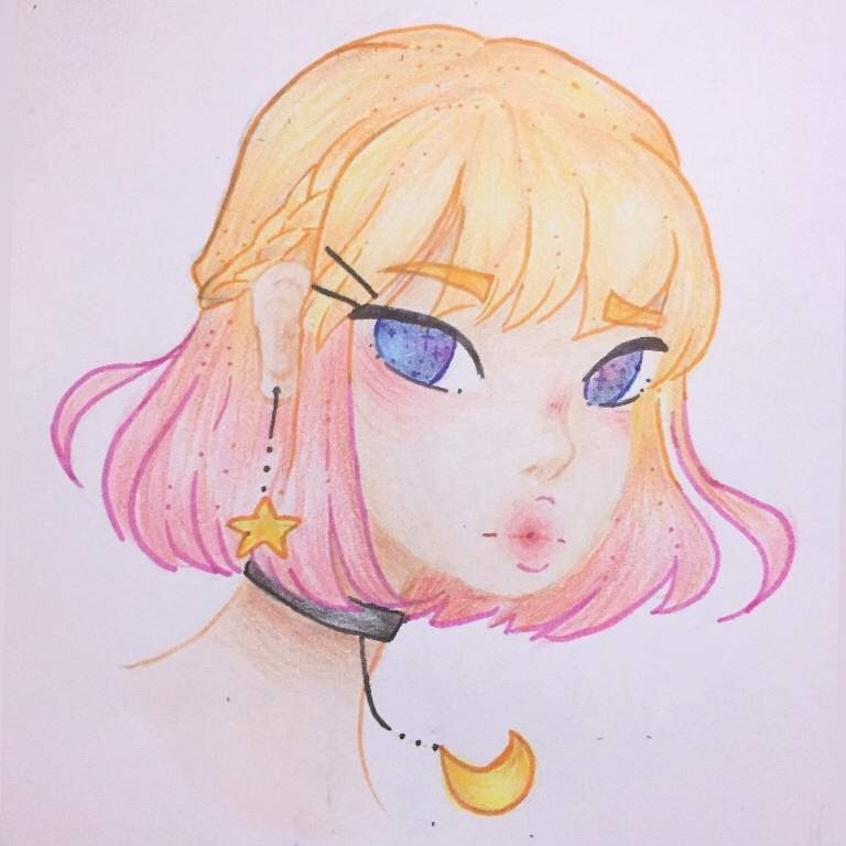 Rose Gold Hair Arts And Ocs Amino