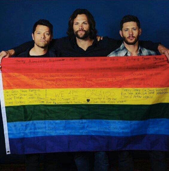 Αποτέλεσμα εικόνας για lgbt flag supernatural