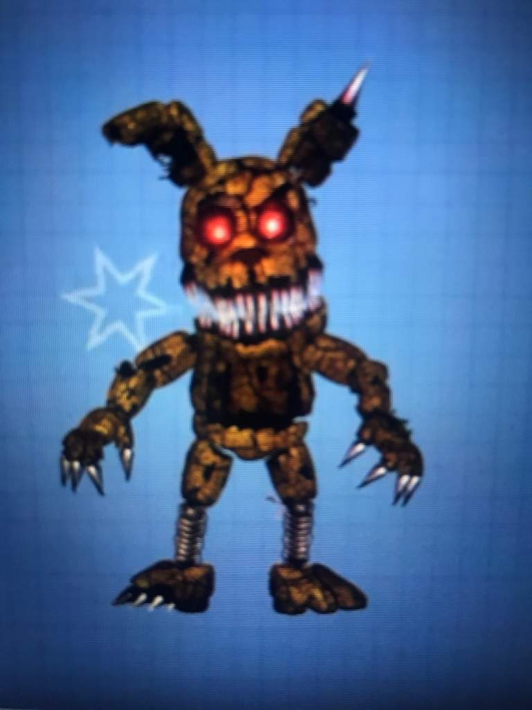 Nightmare Plushtrap Mabe By Chuizaproductions Five Nights At