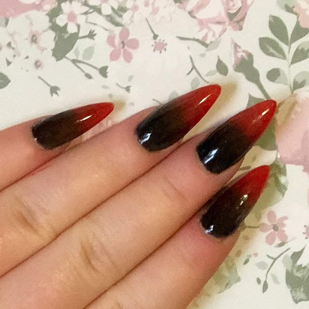 Vampire Nails Nail Art Amino