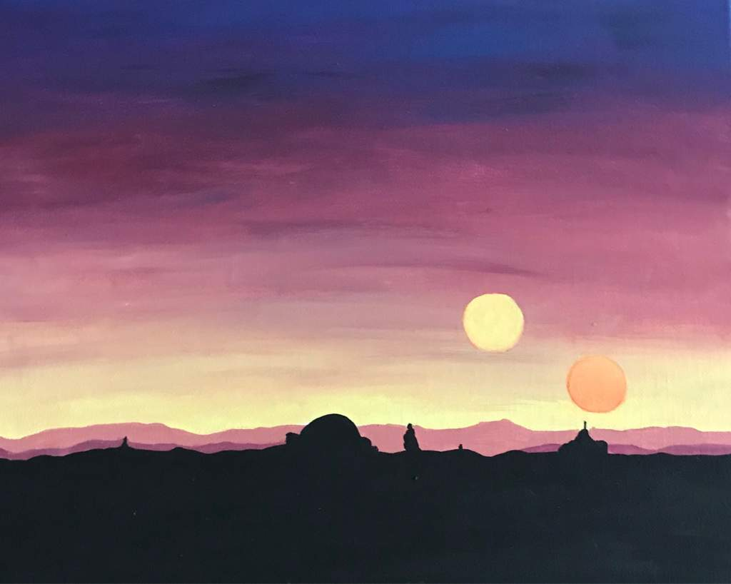 Star Wars Soundtrack Binary Sunset