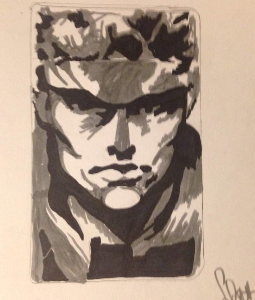 Solid Snake Metal Gear Solid Codec Call Metal Gear Rex Art