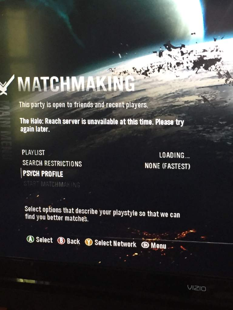 Es ist halo reach Matchmaking