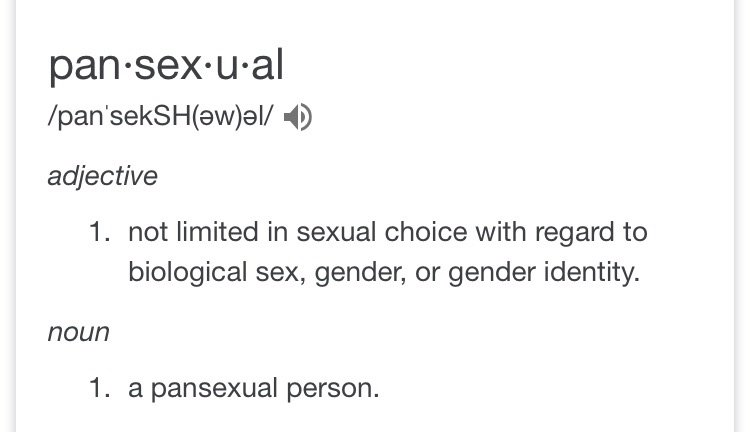 Sexuality quiz pansexual