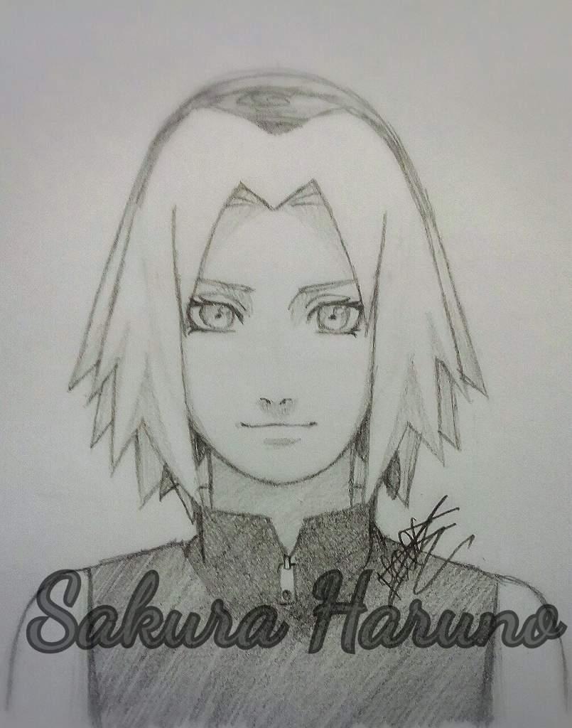 Tuto Dessin Comment Faire Sakura Haruno Naruto
