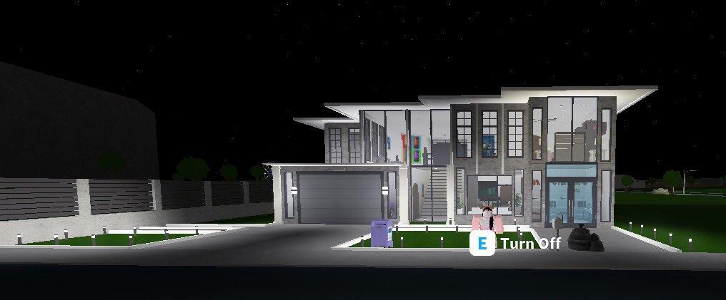 New House On Bloxburg Roblox Amino