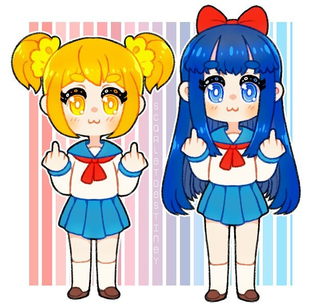 pop team epic fanart