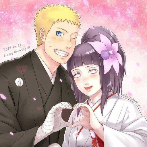 Image: Hinata And Naruto Uzumaki Wedding