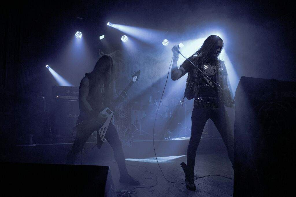 The Initiation - black metal band from Saint Petersburg