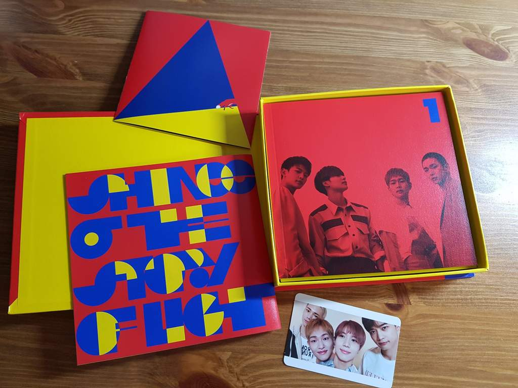 My SHINee CD EP 1: The Story Of Light arrived | 5HINee