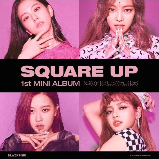 Blackpink Update Square Up Teaser Photos Photocard
