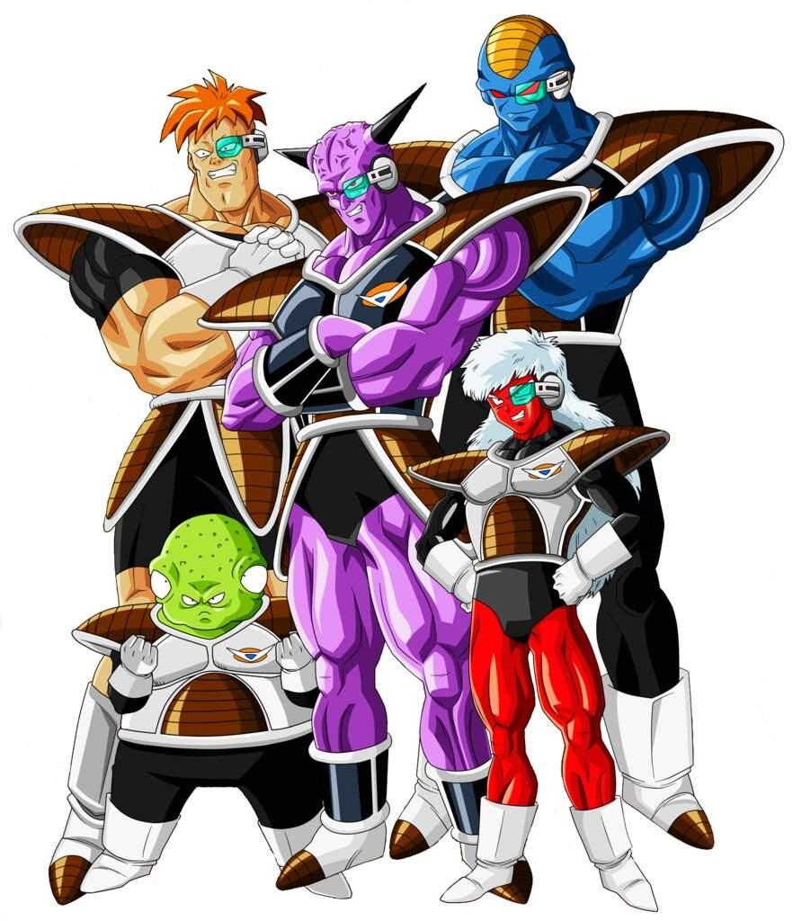 Ranking The Ginyu Force Cartoon Amino