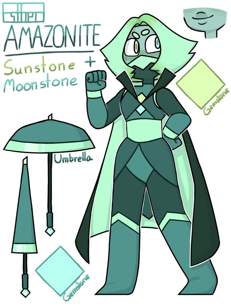Fusion Confusion 13 Amazonite Steven Universe Amino