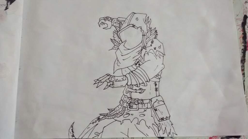 Raven Dibujos De Fortnite Sin Color