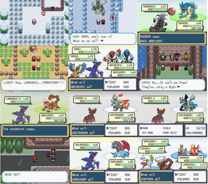 Pokemon nds rom hacks 2019