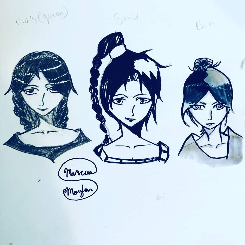 How To Draw Manga Hairstyles 3 Different Ways Art Amino