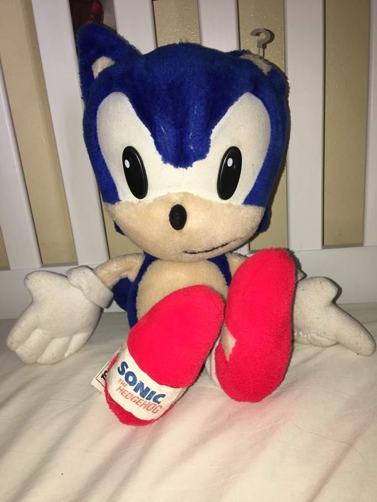 Sonic Plush Tomy 1992 Sonic The Hedgehog Amino