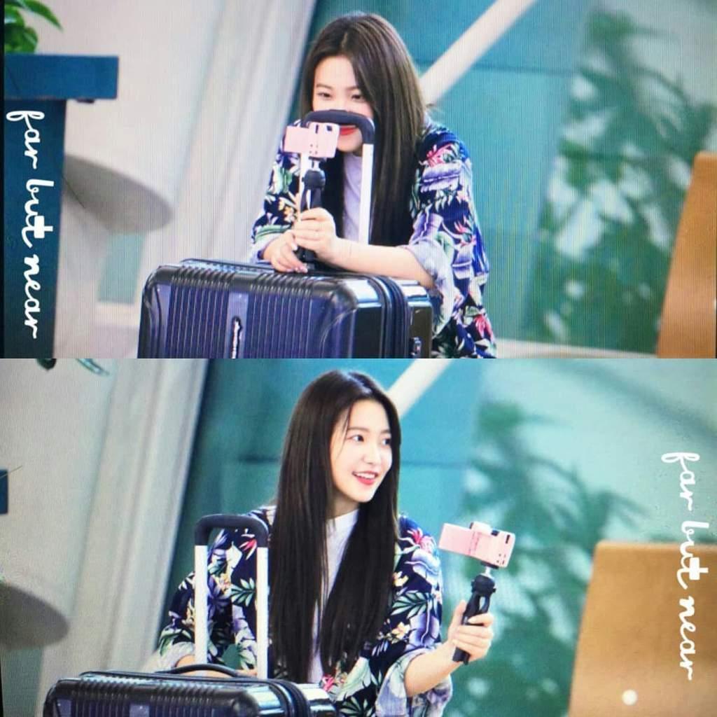Yeri will depart to somewhere for Secret Unnie filming