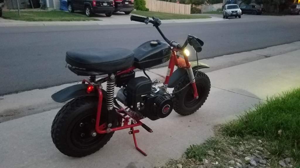 Minibike Update: Predator 212cc Swap   Garage Amino