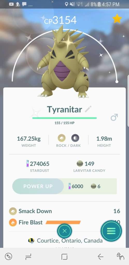 Best Moveset Tyranitar