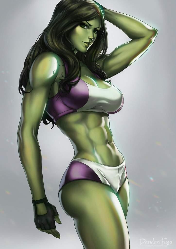 artwork nude she hulk