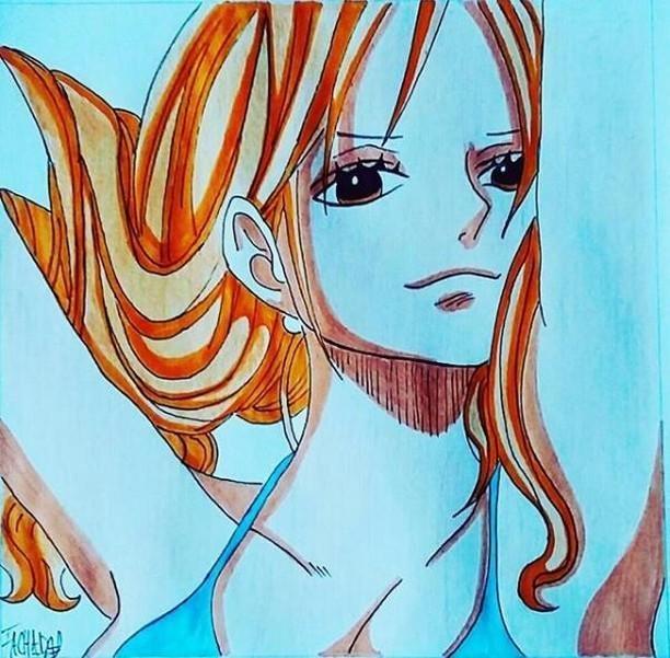 Mes Dessins One Piece Luffy Gear 4 Et Nami One Piece Fr Amino