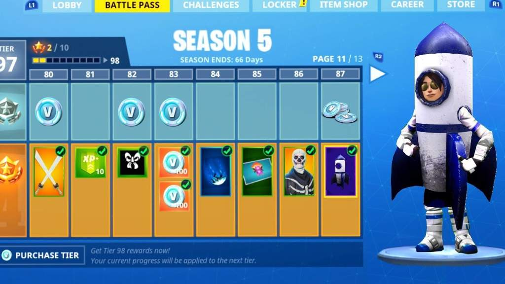 season 5 - epic games fortnite saison 5