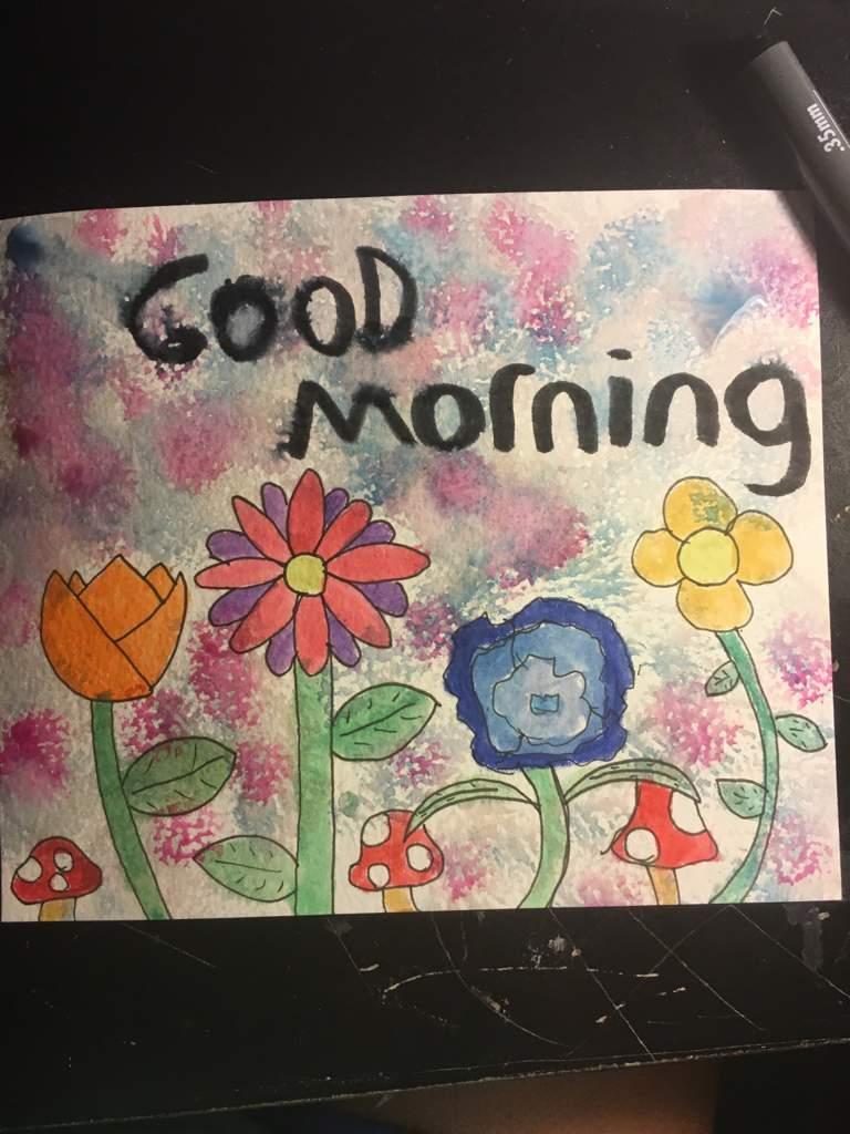 Good Morning Art Amino
