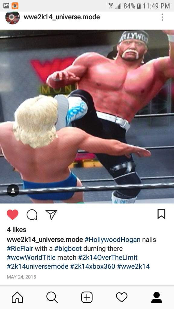 WWE 2k14- Highlights from my old Instagram (Part 3
