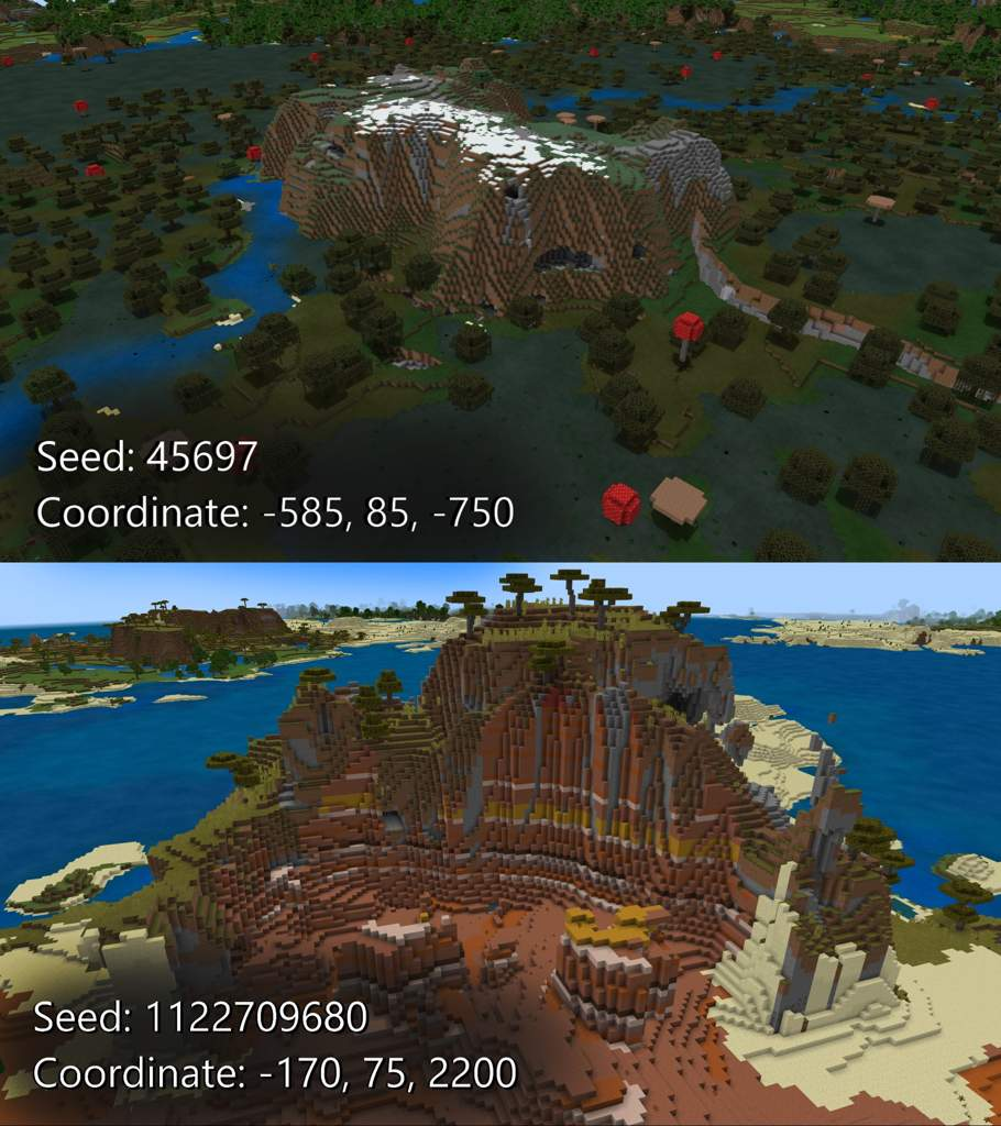 Check out this cool terrain! | Minecraft Amino