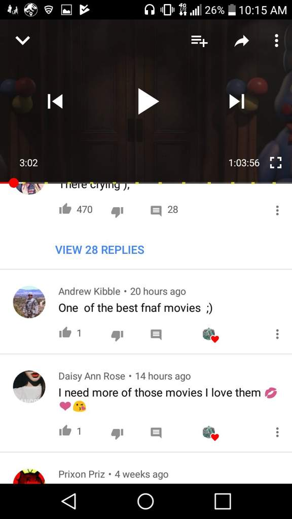 FNAF Movie review (made by secrect4movie) | Five Nights At