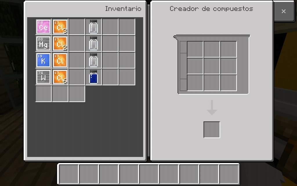 Tutorial de crafteos de la mesa de crafteos (EDUCATION