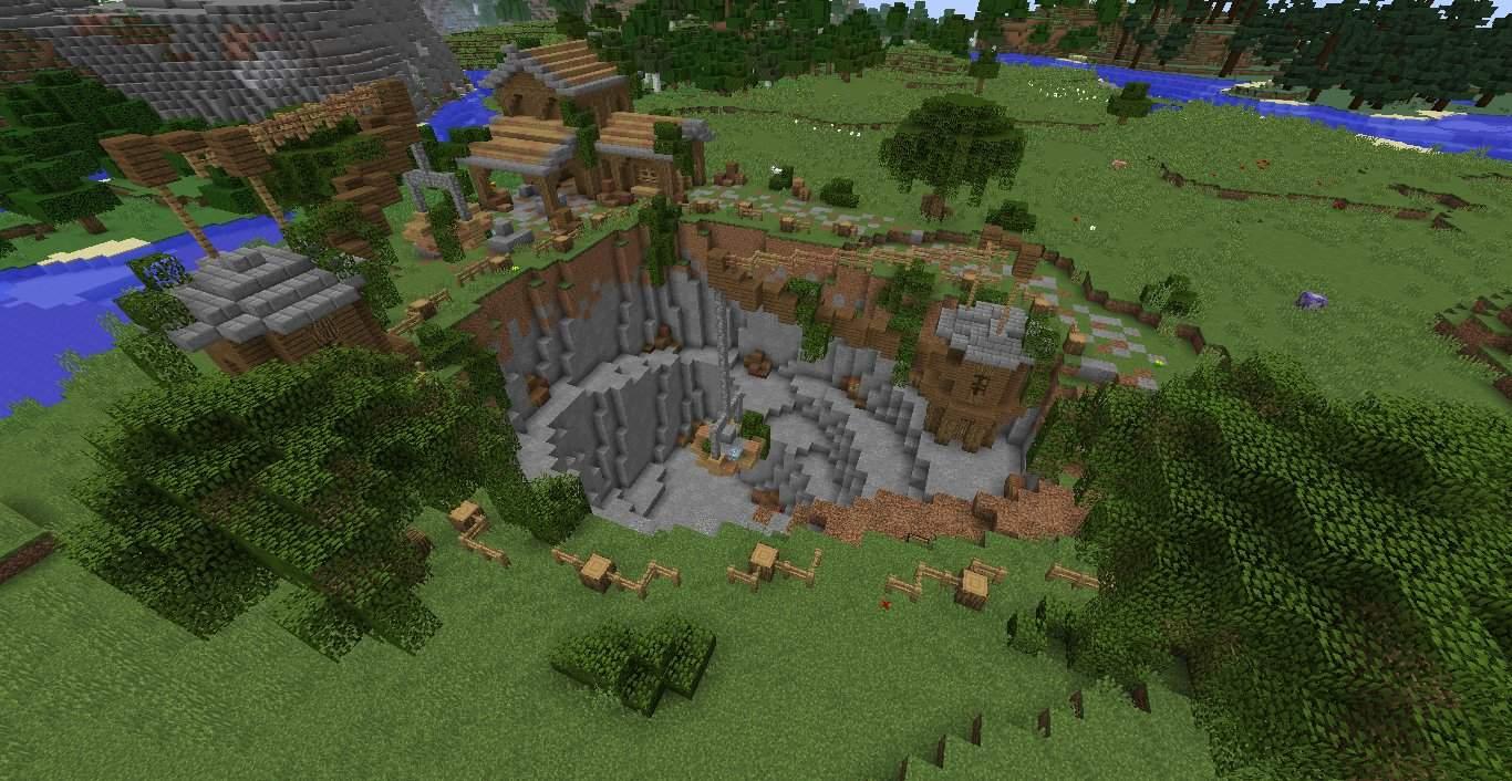 The Quarry  A #RevampChallenge Entry  Minecraft Amino