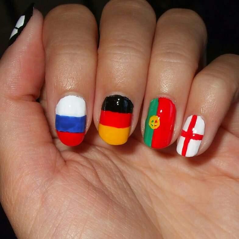 World Cup Nail Art Nail Art Amino