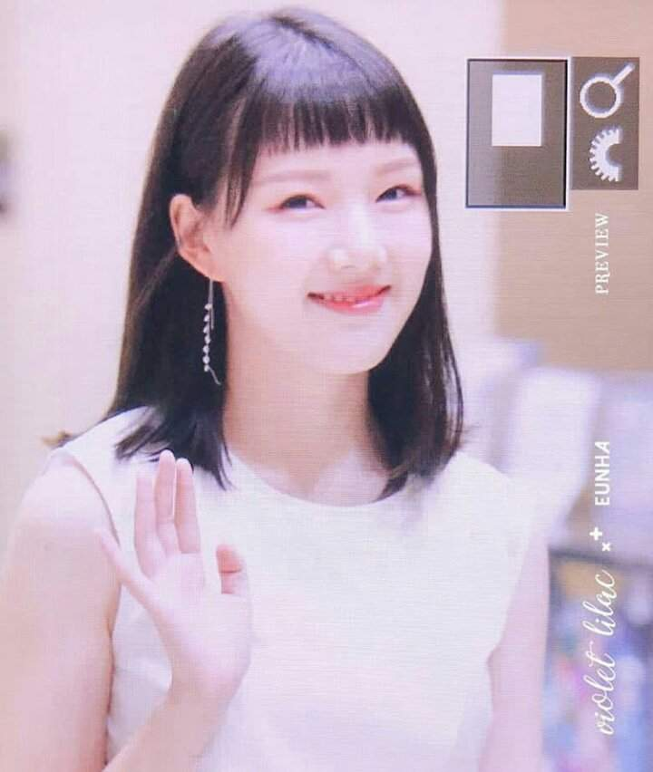 Image result for yerin gfriend bangs