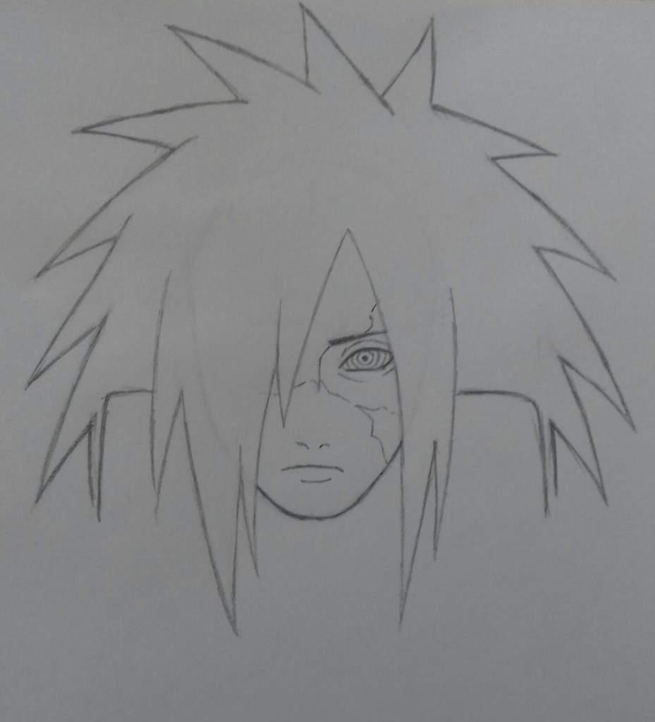 Tuto dessin comment faire madara uchiha naruto - Comment dessiner madara uchiwa ...