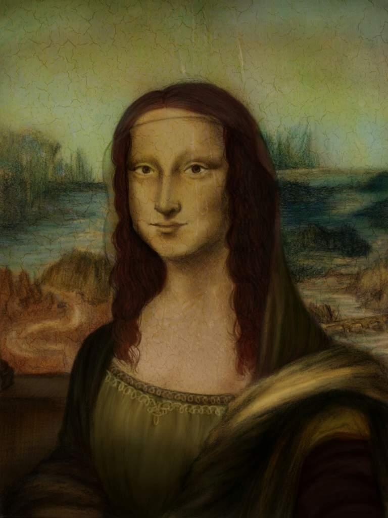 Mona Lisa Classicalredrawchallenge Art Amino