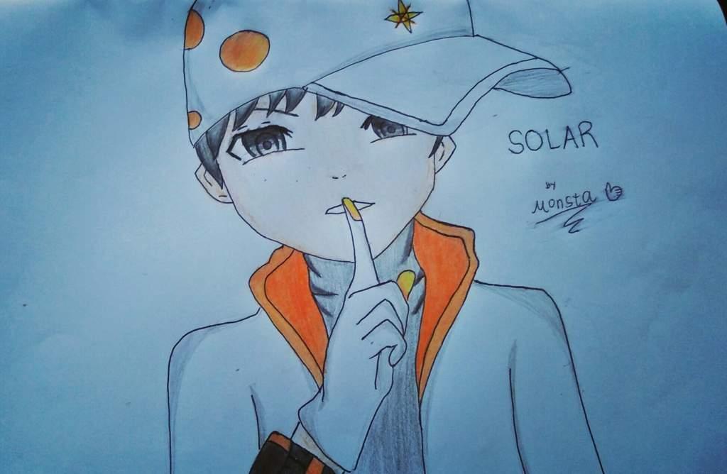 Boboiboy Solar Fanart Boboiboy Amino